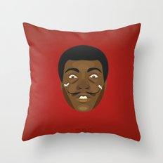 Coupling up (accouplés) Muhammad Dali Throw Pillow