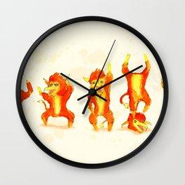 Fire Gang Wall Clock