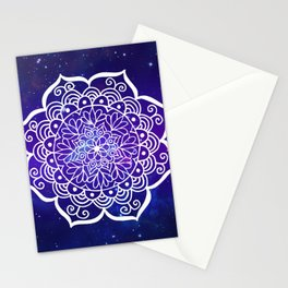 Galaxy Mandala Stationery Cards