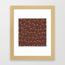 Biscuits Framed Art Print