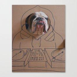 DJ Leland Canvas Print