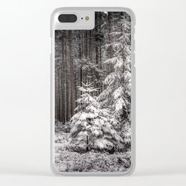 sheltered childhood Clear iPhone Case