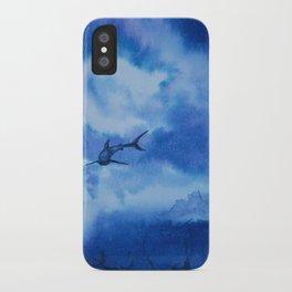 Ink sharks iPhone Case