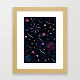 Deep Space Framed Art Print