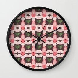MCM Pink Heath Wall Clock