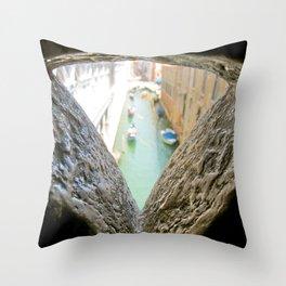 Bridge of Sighs-Venice, Italy Throw Pillow