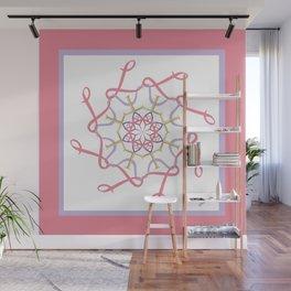 Lullaby Mandala - Pink Lavender Wall Mural