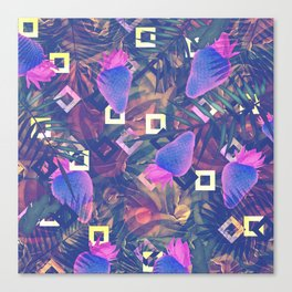 Fluorescent Vibe Canvas Print