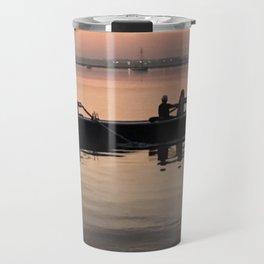 Morning Row in Charleston Travel Mug