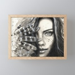Freckly Framed Mini Art Print