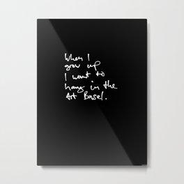 Art Basel Metal Print
