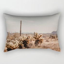 Arizona Desert | Fine Art Travel Photography Rectangular Pillow