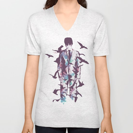 Come Fly with Me Unisex V-Neck