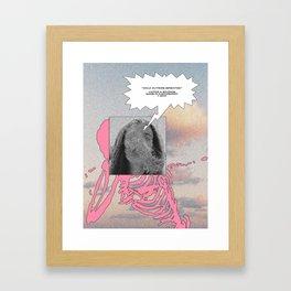 Walk Outside [Breathe] Framed Art Print