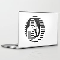 diver Laptop & iPad Skins featuring diver by Gray