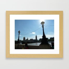 London Lamps Framed Art Print