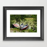 Stockholm Archipelago Framed Art Print