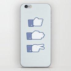 I Like Rock, Paper, Scissors iPhone & iPod Skin