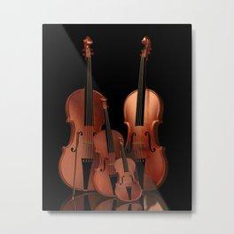 String Instruments Metal Print
