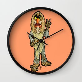 The Muppets' Sweetums!  In honor of John Henson and Jim Henson Wall Clock