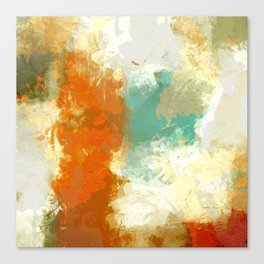 Contemporary art Canvas Print