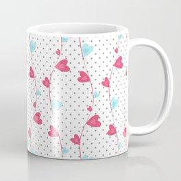 Heart Pattern Coffee Mug