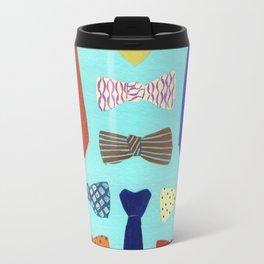 Bowties and Neckties Travel Mug