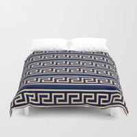greek Duvet Covers featuring Greek by Mr and Mrs Quirynen