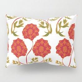 Orchid Pattern Pillow Sham