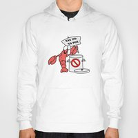 lobster Hoodies featuring Lobster by Barbo's Art