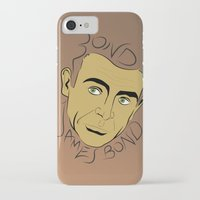 bond iPhone & iPod Cases featuring Bond, James Bond by FSDisseny