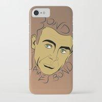 james bond iPhone & iPod Cases featuring Bond, James Bond by FSDisseny