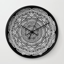 Dedication to Lucy (black) Wall Clock
