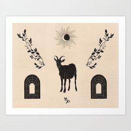 Capricorn II Art Print