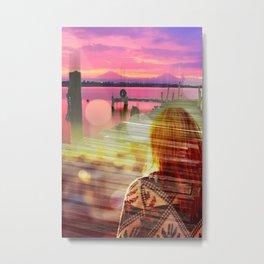 The Harbor Metal Print