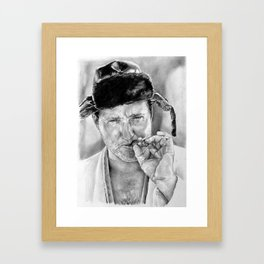 Cousin Eddie Framed Art Print