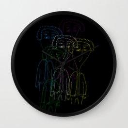 Kurt Vonnegut 2 Wall Clock