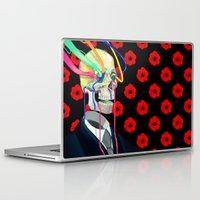 selena gomez Laptop & iPad Skins featuring Dorian by Sebastian Gomez de la Torre