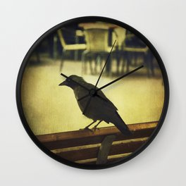 Watch the birdie Wall Clock