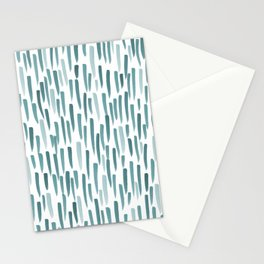 Forest Brush Strokes Stationery Cards