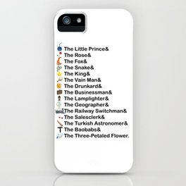 Little Prince Names iPhone Case