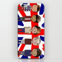 one direction iPhone & iPod Skins featuring One Direction by Paige Norman