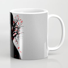 Black & Red Coffee Mug