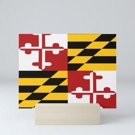Maryland Pride Mini Art Print
