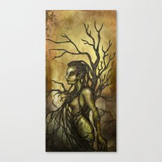 Dark Dryad Canvas Print