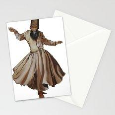 Whirling Dervish Conveys God's Spiritual Gift Stationery Cards