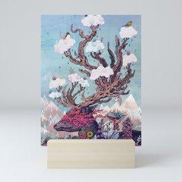 Journeying Spirit (deer) Mini Art Print
