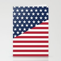flag Stationery Cards featuring Flag by dani