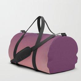 Purple cream Ombre . Duffle Bag