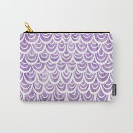 Watercolor Mermaid Amethyst Carry-All Pouch